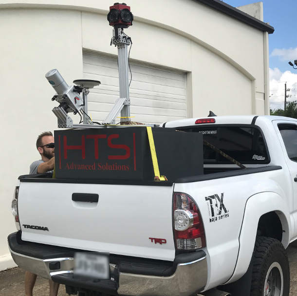 HTS Mapping Services at work: Lidar USA Snoopy Series-A on Truck