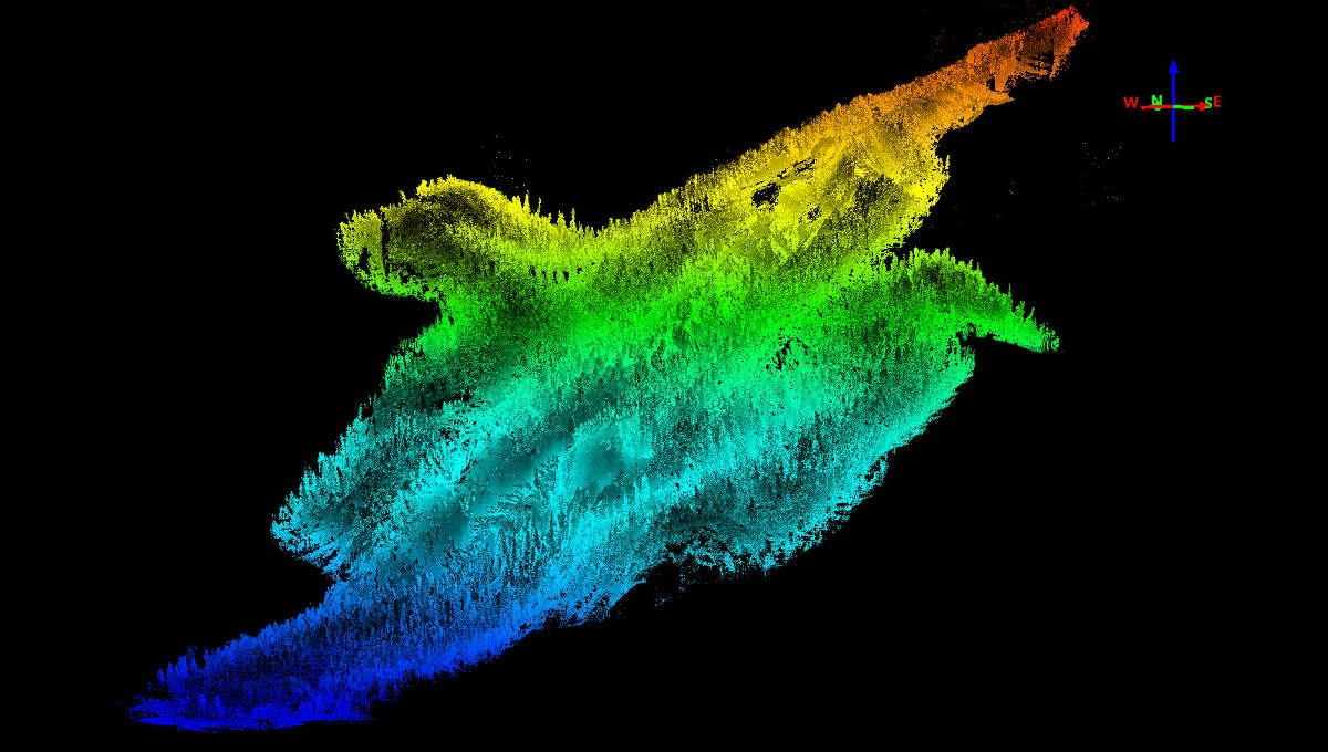 Ouray Blowout LiDAR Data
